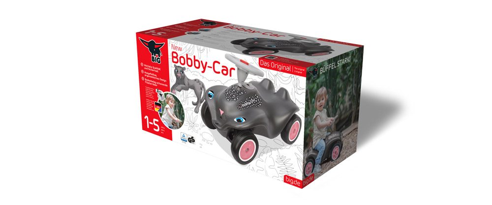 crosscreative BIG-Bobby-Car Panther