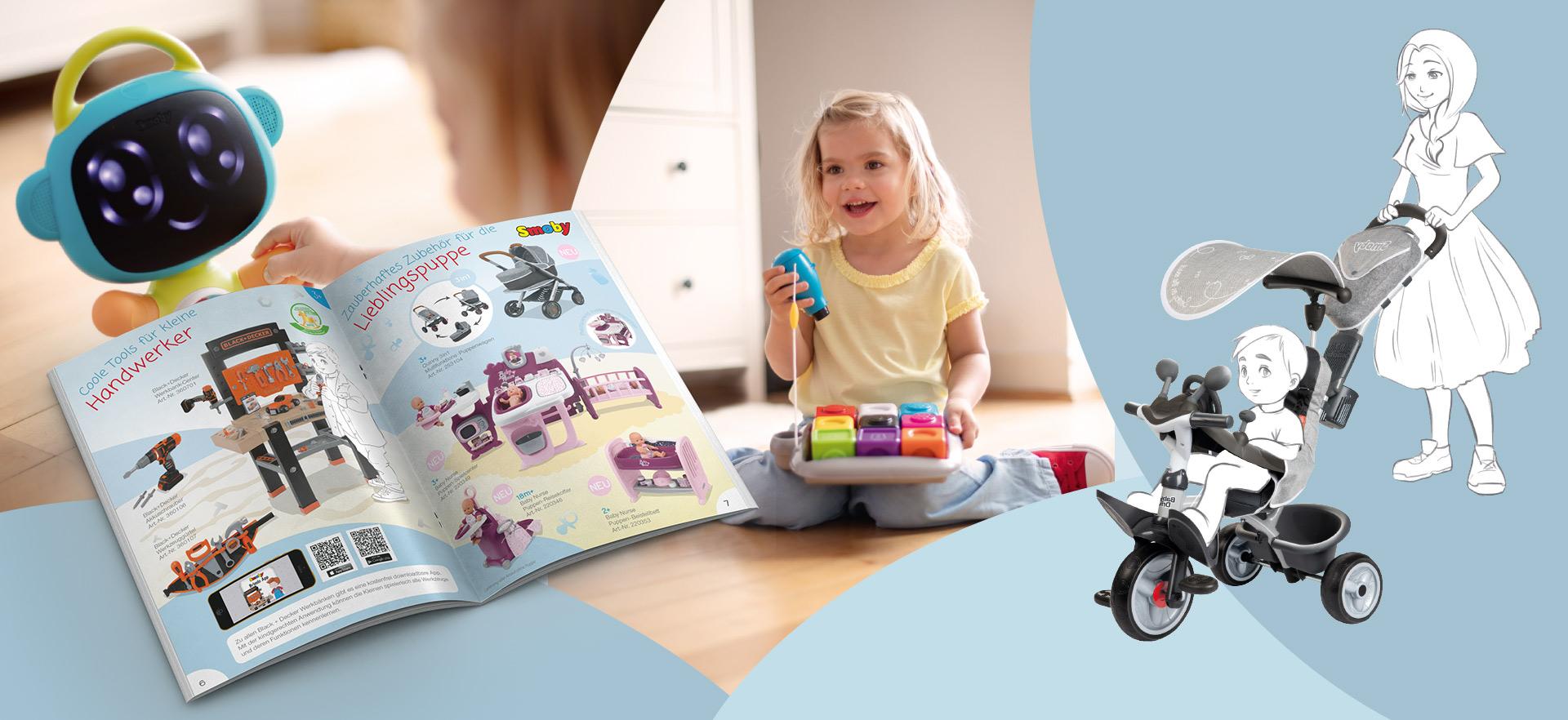 Smoby Toys Produktkatalog